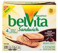 belvita creme chocolate