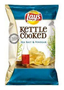 lays kettle salt and vinager chips